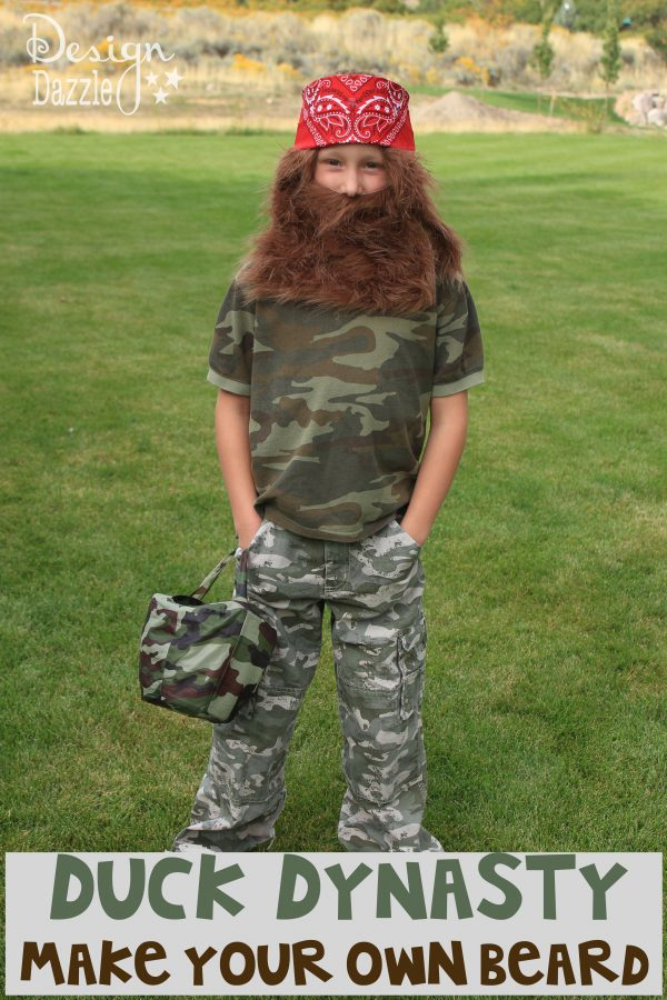 DIY Duck Dynasty Make Your Own Beard - Design Dazzle  sc 1 st  Design Dazzle & DIY: Duck Dynasty Halloween Costume - Design Dazzle