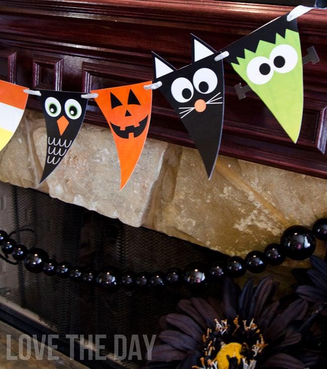Halloween link party favorites design dazzle for Halloween girlande