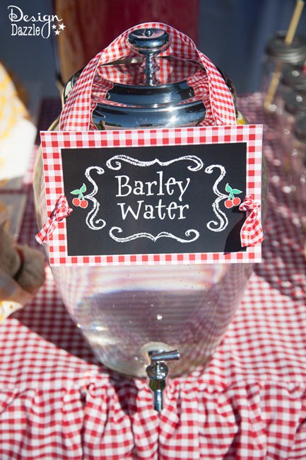 Mary Poppins Barley Water - Design Dazzle