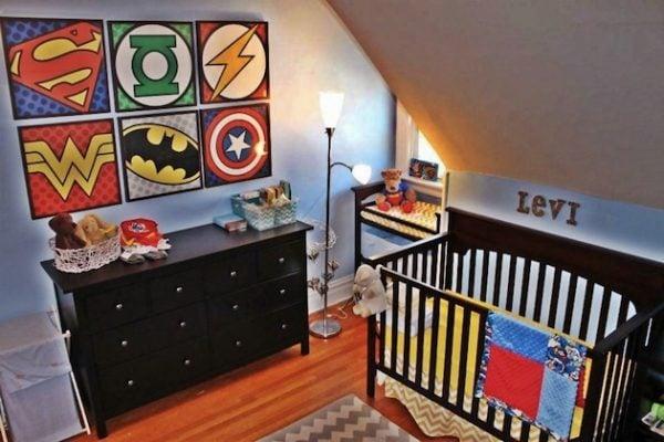Charmant Superhero Nursery