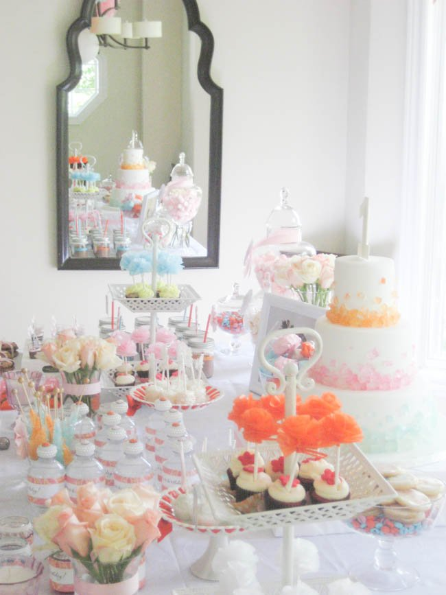 simply sweet party dessert table