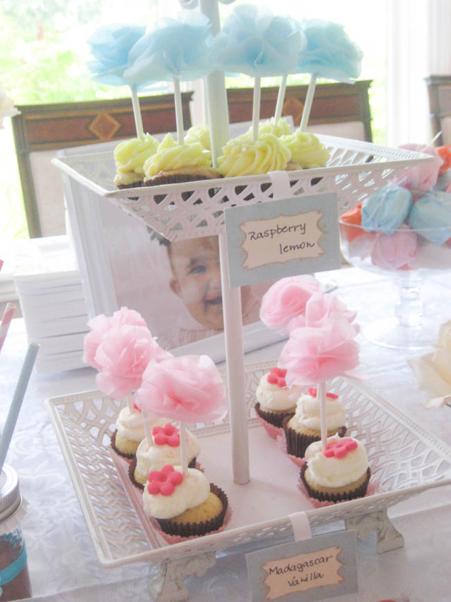 simply sweet birthday party cupcakes