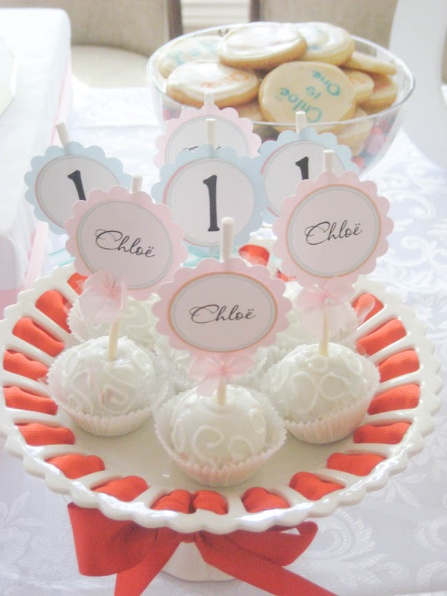 simply sweet birthday party cake pops