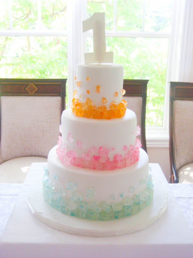 simply sweet party cake