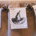 Witch Hat Vintage Halloween Newspaper Printable - Design Dazzle