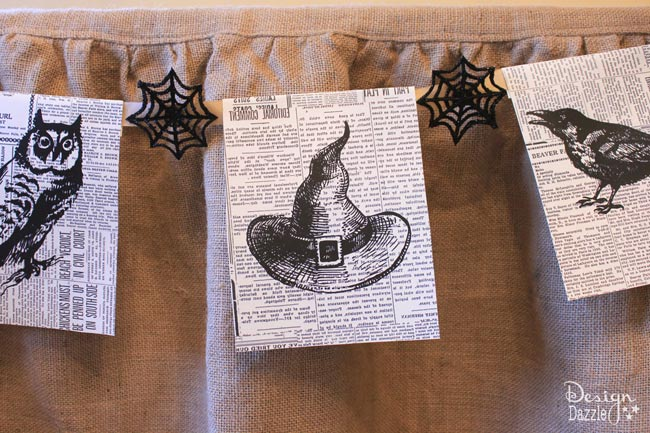 photo regarding Vintage Halloween Printable named 20+ Printable Halloween Decorations Best for Your Property