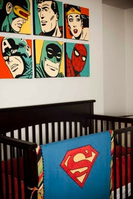 superhero nursery