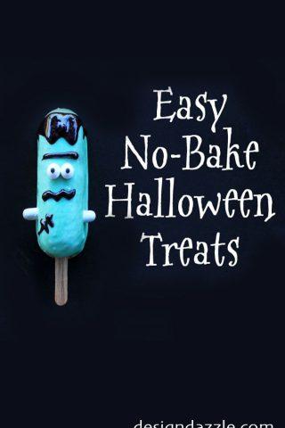 Easy No Bake Halloween Treats (Using Snack Cakes)