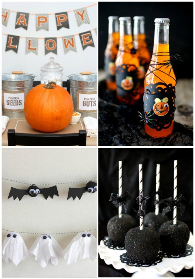 Fabulous Halloween Ideas that will take your decor to the next level! We love Halloween!!