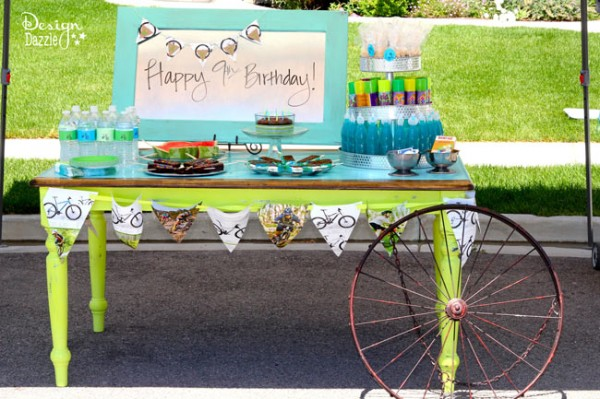 Grab Your Helmets, It's A Bike Party! -- Design Dazzle