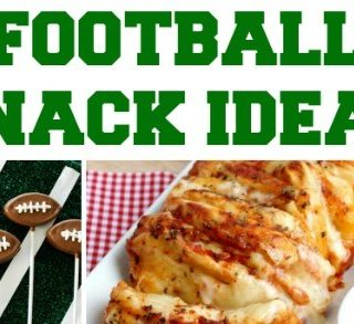 Game Day Football Party Snacks + Interview with Holly Robinson Peete