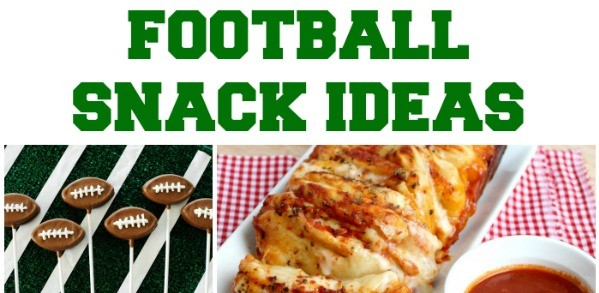 game day football snacks