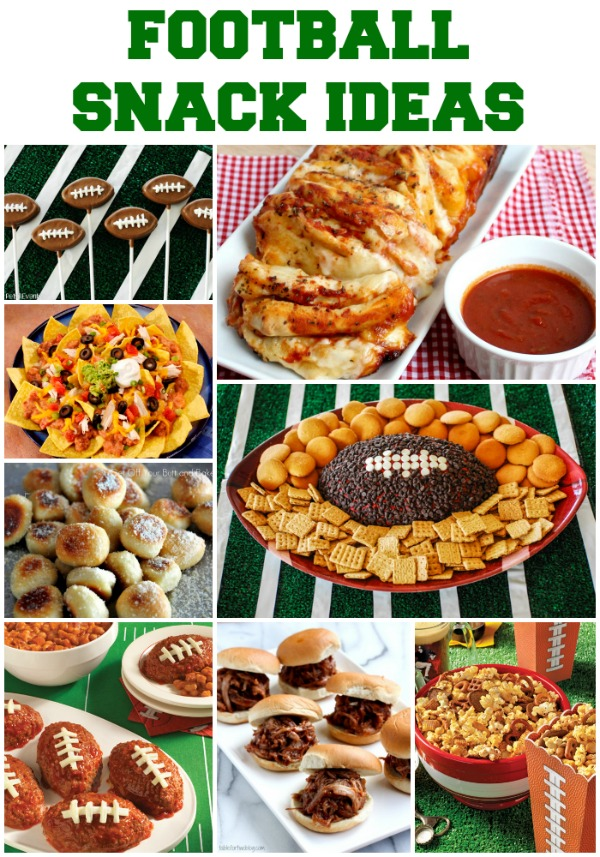 Game Day Football Party Snacks + Interview with Holly ...