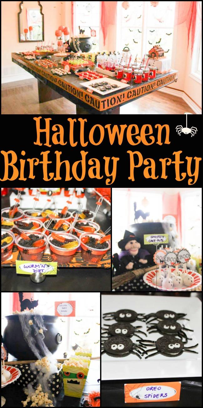 Halloween Birthday Party Design Dazzle