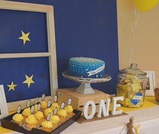 """""""On the Night You Were Born"""" Birthday Party"""