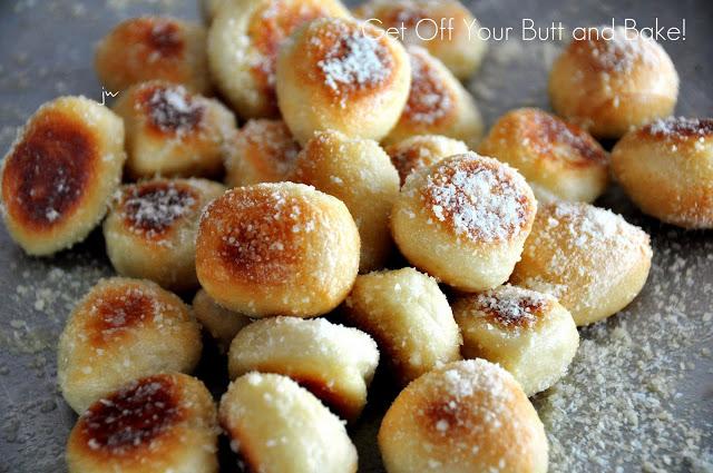 permesan pretzel bites
