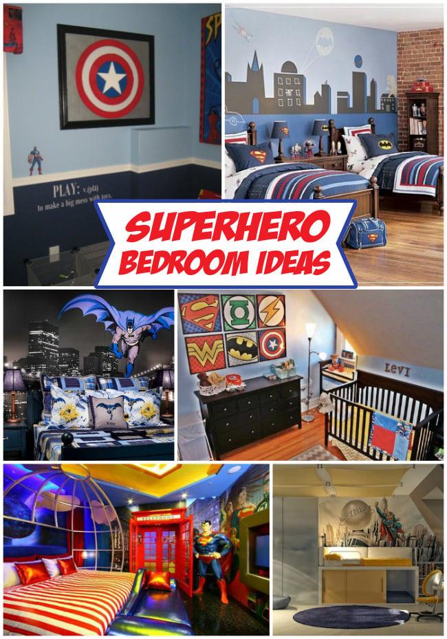 superhero themed bedroom decor ideas