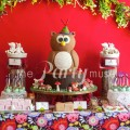 woodland wonderland dessert table