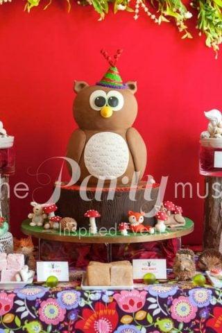Woodland Wonderland Birthday Party