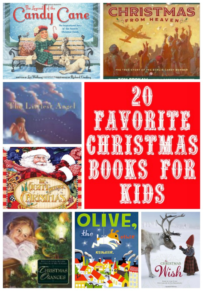 Our Top 10 Must Have Baby Items: Our Top 20 Favorite Kids Christmas Books