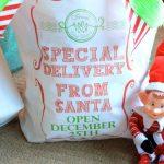 Santa Sack: Special Delivery From Santa Open Dec 25th!