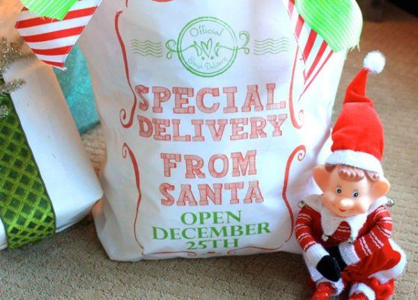 Santa Sack Printable