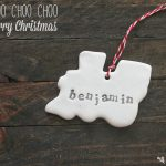 Cookie Cutter Clay Christmas Ornaments