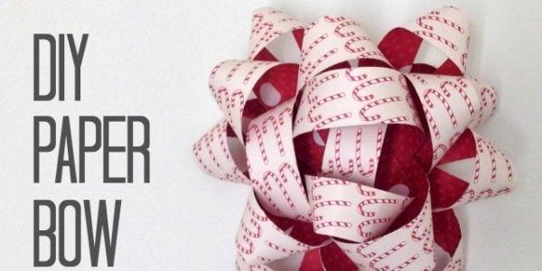 DIY paper Bow tutorial 3