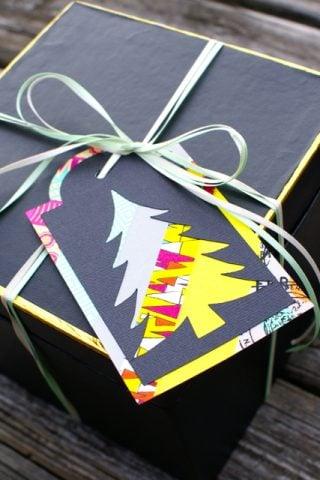 DIY Christmas Gift Tags with Washi Tape!