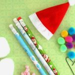 Christmas Mice Pencils