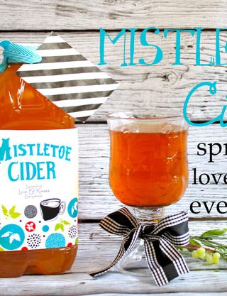 Great Neighbor Gift – Mistletoe Cider