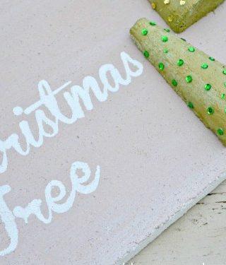 O' Christmas Tree 3D Faux Pallet Art
