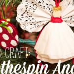 Kid Craft: Angel Ornaments