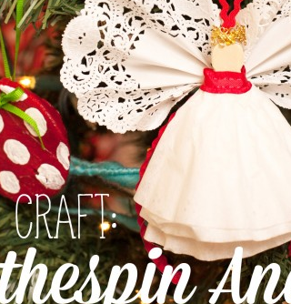Kid Craft: Angel Ornaments