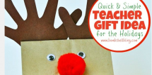 Teacher gift idea to make with kids