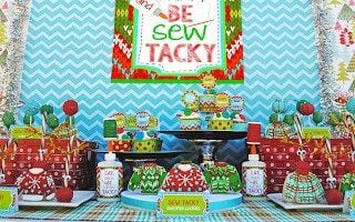 """Let's Be Sew Tacky"" Party"