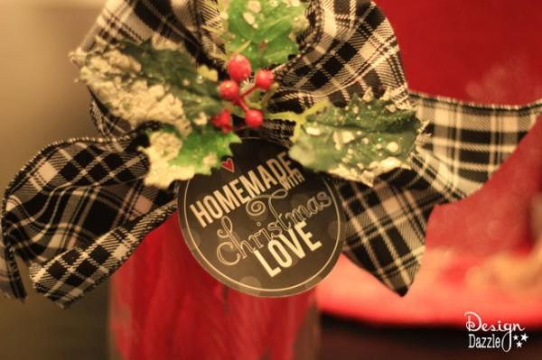 Christmas love printable - Design Dazzle