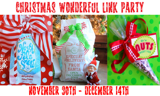 christmas wonderful link party