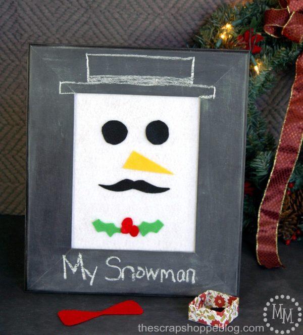 diy-felt-snowman