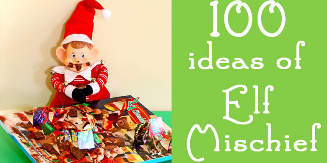 100 Ideas of Elf Mischief - Design Dazzle #elfideas, #elfprintables
