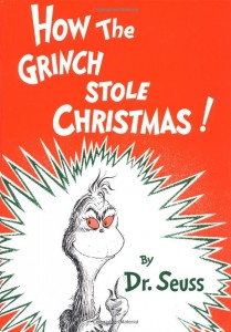 How the Grich Stole Christmas! book