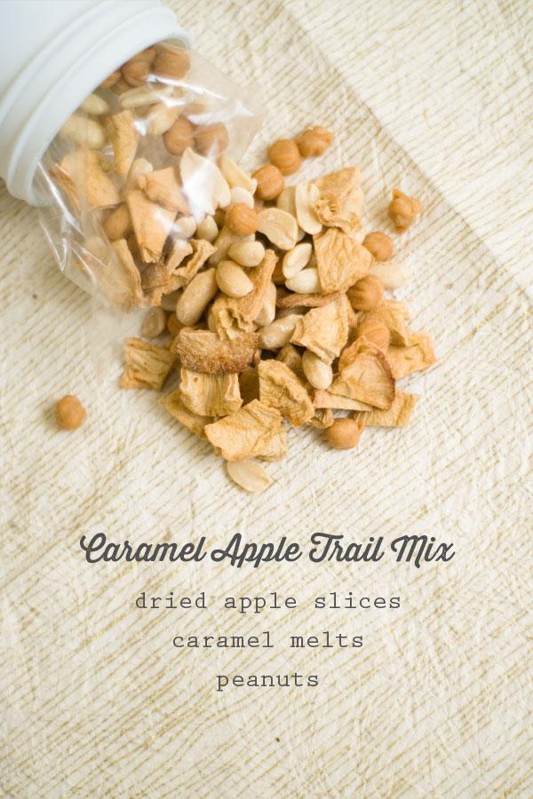 caramel apple social trail mix