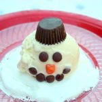 A Melting Snowman Sundae