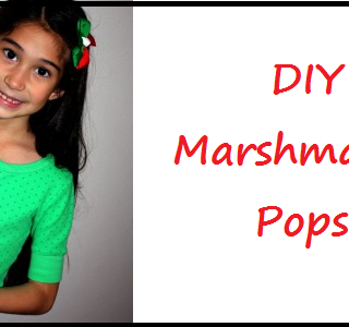 Marshmallow Pops DIY