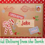 North Pole Special Delivery Labels