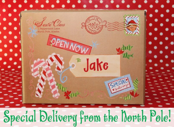 Special Delivery from the North Pole - mailing label