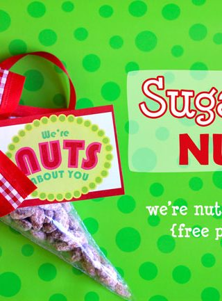 Family Christmas Traditions: Sugared Nuts And Free Printable