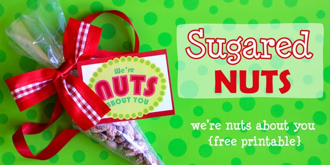 free we u0026 39 re nuts about you printable archives