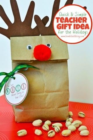 Teacher gift idea for the holidays from bombshell bling