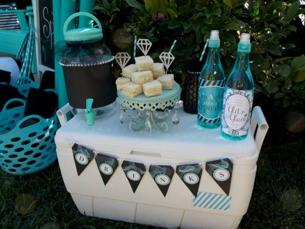 tiffany summer splash drink station
